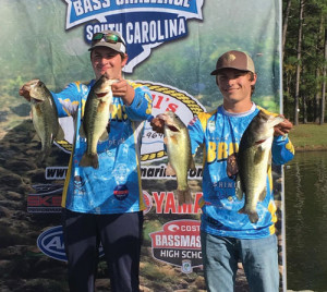 Anglers finish second in state tourney