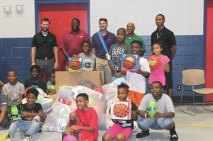 The American Heart Association and ABB donate to Boys and Girls Club