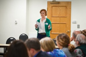HopeHealth's Timmons speaks to Women's Voter League
