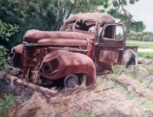 Florence artist Debbie Broadway takes second place at Pee Dee Regional Art Competition