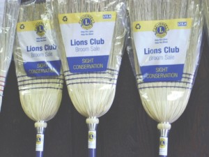 Lion's Club broom sales begin in October