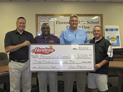 Carolina Food  Systems support high school  athletics