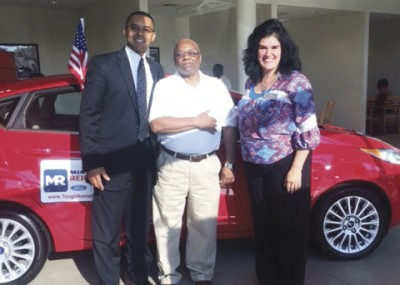 United Way gives car to lucky donor