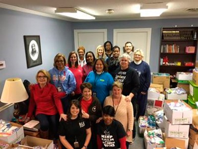 Schools provide care kits to Lighthouse