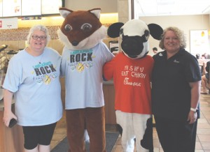 Chick-fil-A and Florence County Library celebrate children reading together