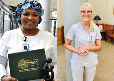 MUSC-Florence announces two DAISY honorees