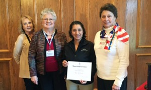 DAR chapter honors Major Tassios