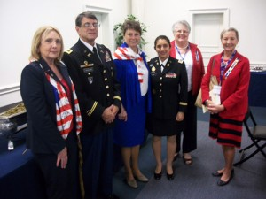 DAR chapter hosts National Defense luncheon on Veteran's Day