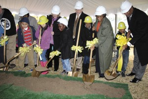 New Delmae construction celebrated