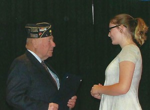 American Legion Post 1 recognizes South Florence JrROTC cadets
