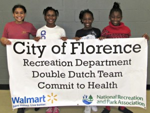 DOUBLE DUTCH TEAM TO COMPETE IN NY