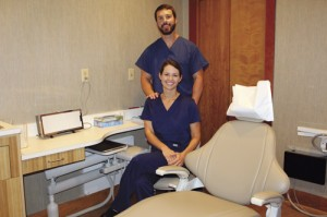 Couple joins dental practices here