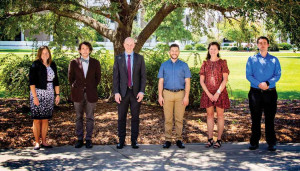 Shown above are six of the 10 new faculty members that began work at Francis Marion University this fall.