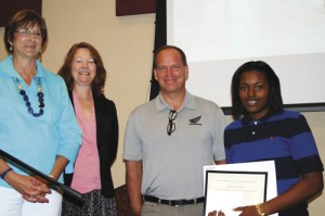 FDTC partners with Honda of SC  for manufacturing certificates
