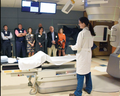 Foundation Fellows visit the McLeod Cancer Center