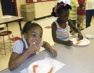 FMU nursing students bring 'healthy' lessons to Boys & Girls Club members