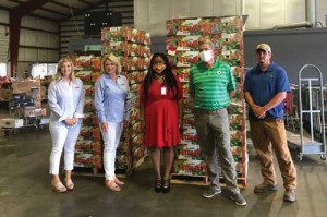 S.C. Farmers support food bank