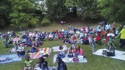 CARE HOUSE to show movie in Timrod Park