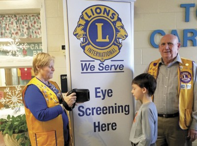 Evening Lions offer free vision screening for youth