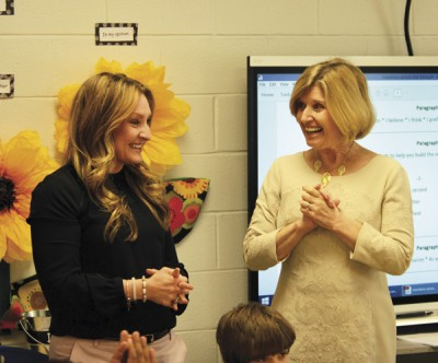 Dr. Barley chosen as finalist for S.C. Teacher of Year