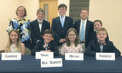 All Saints' places in Quiz Bowl
