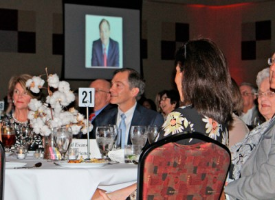 Gerald Evans honored by School Foundation