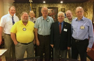 Golden K Kiwanis install new  officers