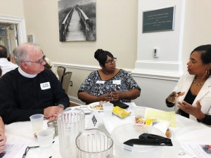 Florentines discuss racial bridging during movement luncheon