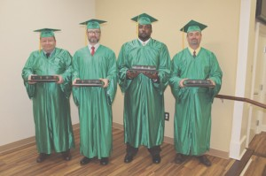 House of Hope graduates four from Life Recovery Program