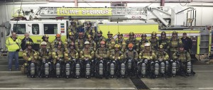 Howe Springs Fire, Rescue  gets new breathing equipment