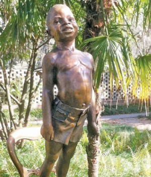 Palkovich statue now part  of collection at Brookgreen