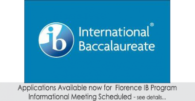 Applications available for Florence IB Program