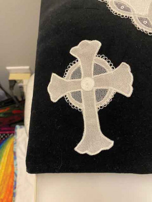 Exquisite Irish lace will be among the artwork on display and for sale during the artist showcase that will be a part of Central United Methodist church's 150th anniversary celebration.