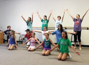 Impact Christian Children's Theatre registering for Broadway Bootcamp