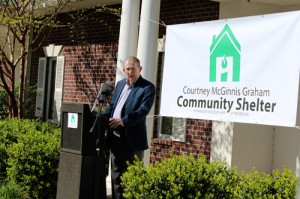 Emergency shelter honors homeless advocate