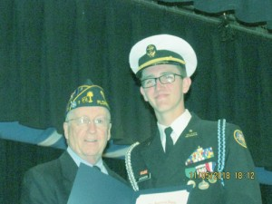 American Legion presents JrROTC awards at South Florence