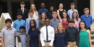 Junior Scholars recognized at ceremony at FMU