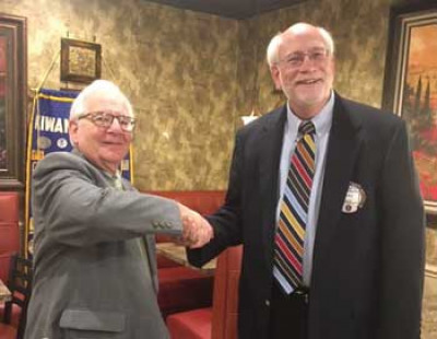 Golden K Kiwanis elects new president