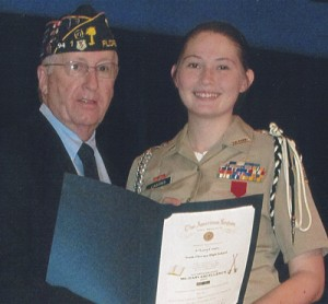 Awards given to JrROTC students