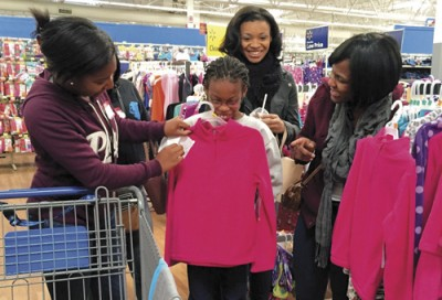Lions, Leos provide shopping trips for deserving children