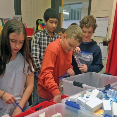Students show  compassion and kindness