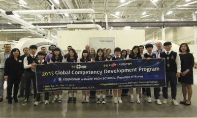 South Korean students visit GE