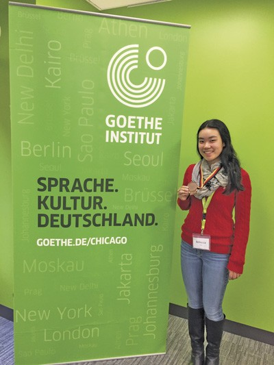 Wilson student places third  in USA round at International  German Olympiad