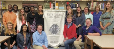 Florence Evening Lions sponsor new Leo Club at South Florence High