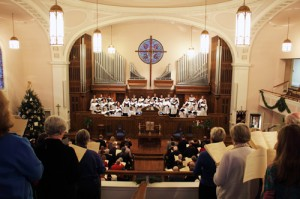 Central's Festival of Nine Lessons and Carols retells the Christmas story