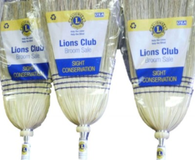 Lions selling brooms this Saturday