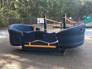 McLaurin Elementary unveils new inclusive  playground equipment