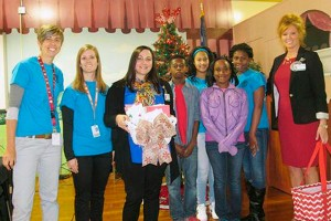 Savannah Grove students spread Christmas cheer