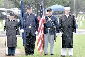 Florence National Cemetery  holds Memorial Day event