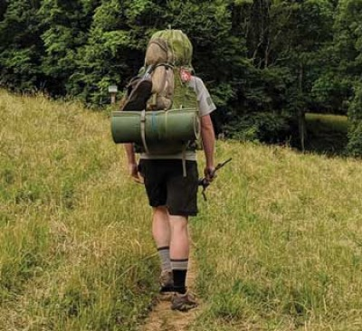 FMU grad hikes trail to raise money for Pee Dee Coalition
